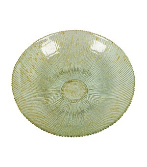 Tafelaufsatz aus recyceltem Glas Beige - Crystal Colours Deco Kollektion