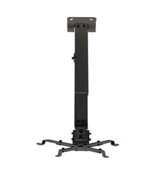 Verstellbare Deckenhalterung für Projektoren TooQ PJ2012T 20kg 13 - 65 cm -15º/+15º Schwarz