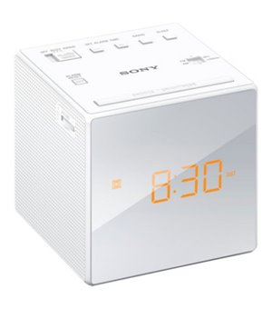 Radiowecker Sony ICFC1W Weiß