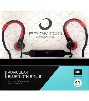 Bluetooth Kopfhörer mit Mikrofon BRIGMTON BML-11-R Rot