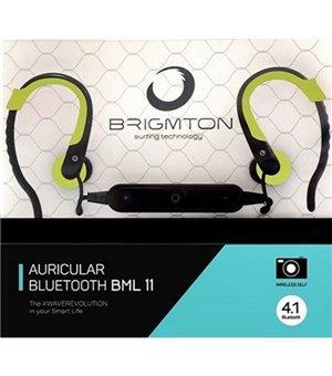 Bluetooth Kopfhörer mit Mikrofon BRIGMTON BML-11-V Grün