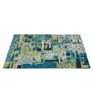 Teppich (240 x 170 x 3 cm) Blau - Sweet Home Kollektion