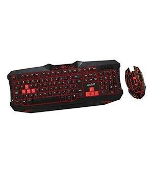 Tastatur und Gaming Maus approx! APPBAT Schwarz Rot