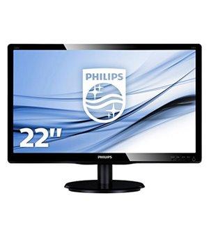 "Philips 223V5LSB2 Monitor 21.5"" Led 16:9 5ms Slim"