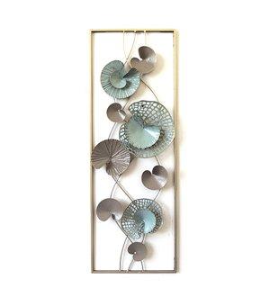 Wanddekoration Water Lily (31 x 90 x 35 cm)