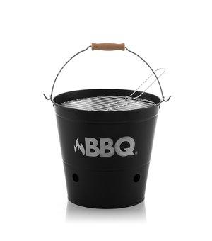 BBQ Metalleimer-Kohlegrill