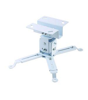 Verstellbare Deckenhalterung für Projektoren iggual STP01 IGG314708 -22,5 - 22,5° -15 - 15° Eisen Weiß