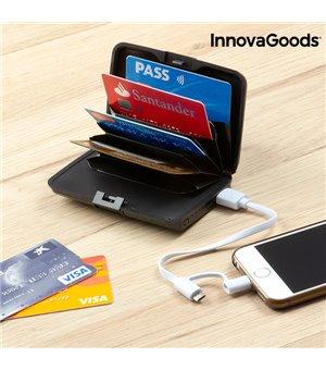 InnovaGoods Sicherheits Kreditkartenetui und Power Bank