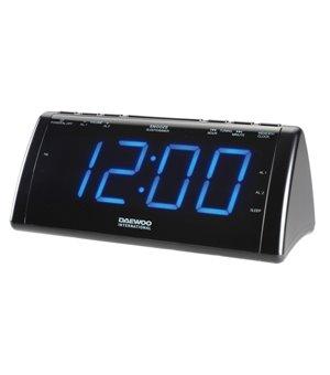 Radiowecker mit LCD-Projektor Daewoo 222932 USB