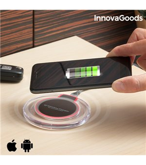 InnovaGoods Drahtloses Ladegerät für Qi Smartphones