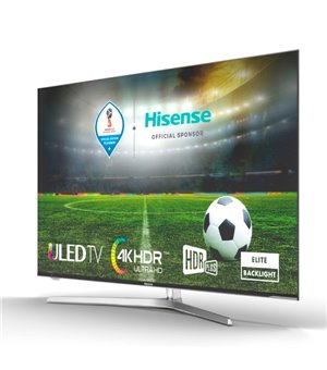 "Smart TV Hisense H55U7A 55"" Ultra HD 4K ULED WIFI Silberfarben"