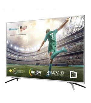 """Smart TV Hisense 55A6500 55"""" 4K UHD DLED WIFI Schwarz Silberfarben"""