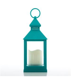 Lanterne mit LED-Kerze