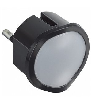 Nachtlicht Legrand 80837 050677 LED Schwarz