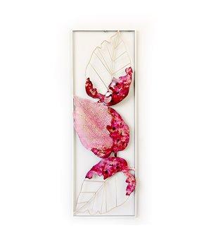 Wanddekoration Rosa (31 X 89 x 3 cm)