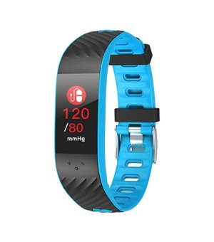 "Activity-Armband BRIGMTON BSPORT-16-A 0,96"" OLED Bluetooth Blau"