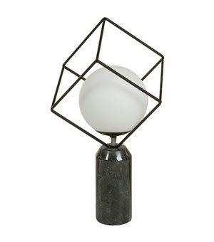 Tischlampe Aluminium