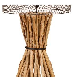 Tischlampe Holz (48 X 48 x...