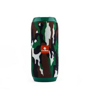 Bluetooth-Lautsprecher CoolBox COOLTUBE 10W 1200 mAh FM Tarnfarbe