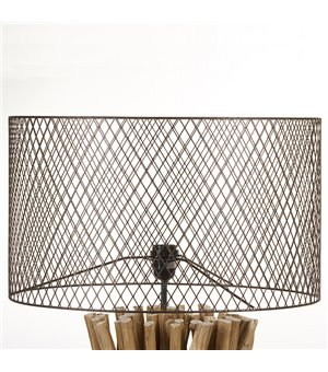 Stehlampe Holz (48 X 48 x...