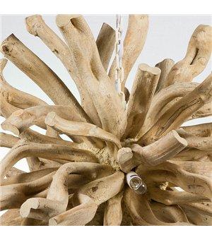 Deckenlampe Holz (70 X 70 x...