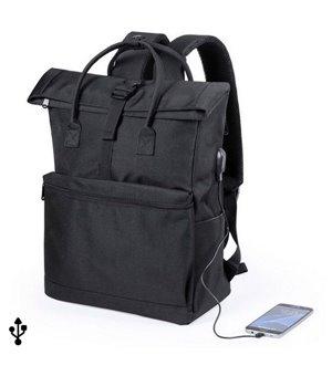 Laptop- und Tablet-Rucksack mit USB-Anschluss 145532