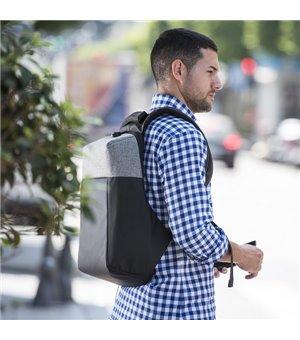 Diebstahlsicherer Rucksack mit USB und Fach für Tablet und Laptop 145949