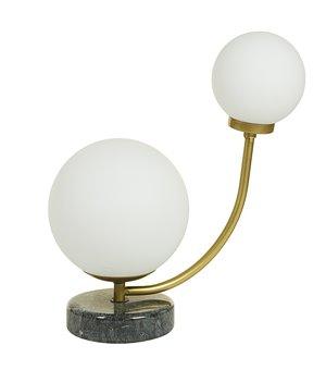 Tischlampe Aluminium (24 X 15 x 31 cm)