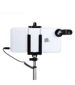 Set aus Selfie Stick mit Objektiven (5 pcs) 144940