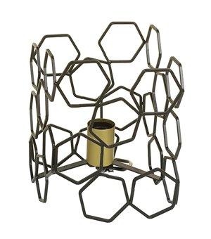 Tischlampe Aluminium (19 X 19 x 24 cm)