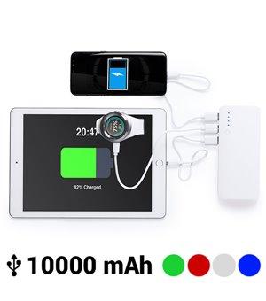 Power Bank mit dreifachem USB-Anschluss 10000 mAh 145779