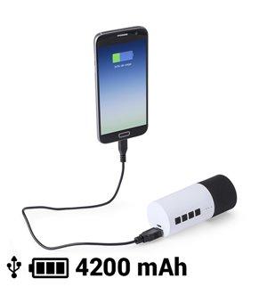 Bluetooth Lautsprecher Ladegerät 4200 mAh 3W 145161