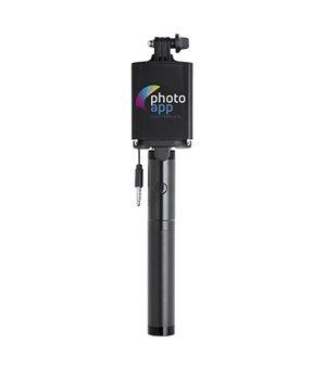 Selfie-Stab mit Power Bank...