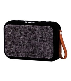 Tragbare Bluetooth-Lautsprecher CoolBox COO-BTA-P01BK 3600 mAh Schwarz