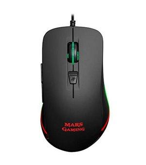 Optische Maus Mars Gaming MM118 USB 9800 DPI Schwarz
