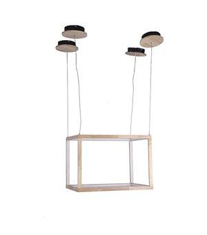 Deckenlampe Rectangle Holz