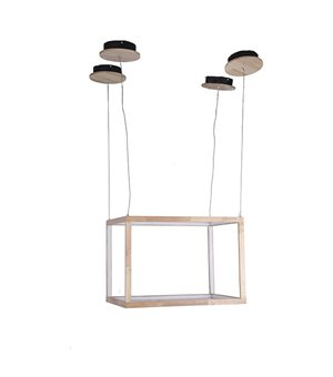 Deckenlampe Rectangle Holz