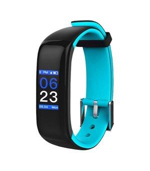 "Activity-Armband BRIGMTON BSPORT-15-A 0,96"" OLED 150 mAh Bluetooth 4.0 Blau"