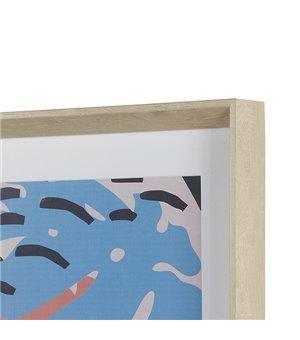 Ölgemälde Mdf (80 X 4 x 80 cm)