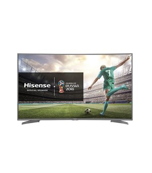 "Smart TV Hisense H55N6600 55"" 4K Ultra HD LED WIFI HDR Silber Wölbung"