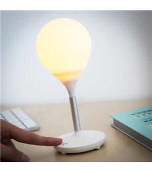 Wiederaufladbare Schreibtischlampe aus Silikon (4 LED)