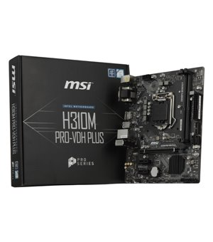 Mainboard Gaming MSI H310M PRO-VDH PLUS mATX LGA1151