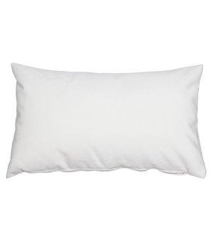 Kissen Velvet Weiß