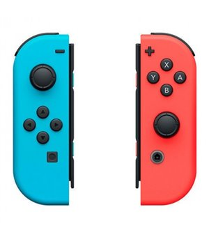 Drahtloses Gamepad Nintendo Joy-Con Blau Rot