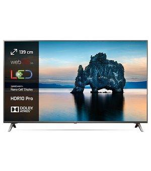 "Smart TV LG 65SK8000PLB 65"" 4K Ultra HD LED WIFI Silber"