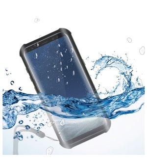 Wasserfestes Case Samsung Galaxy S8 Aqua Case Schwarz Durchsichtig