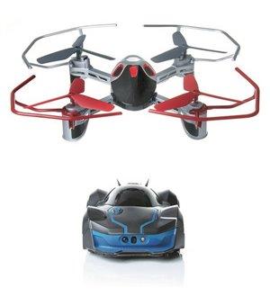Dron + Fergesteuertes Auto Wowwee