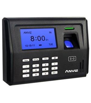 Biometrisches Zugangskontrollsystem POSIFLEX EP300 LCD 500 dpi Schwarz