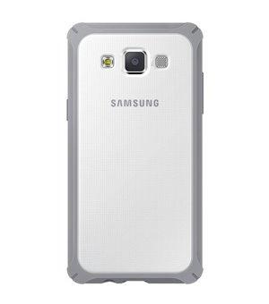 Handyhülle Samsung Galaxy A3 Durchsichtig Grau