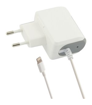 Wandladegerät Lightning 1a iPhone Weiß
